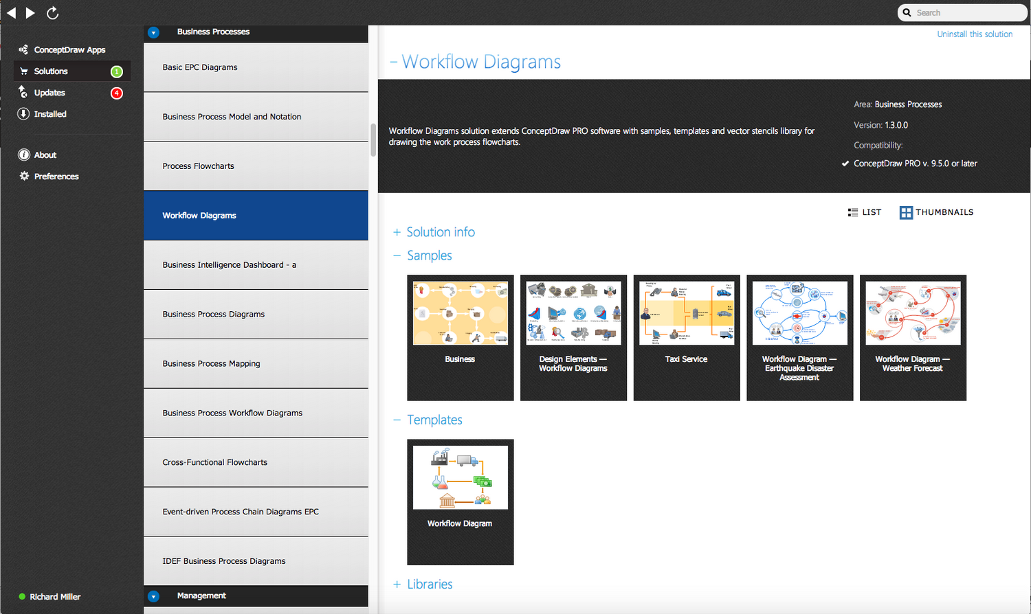 Workflow Diagrams Solution - Start Using